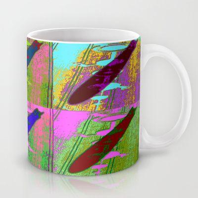 Zeppelin Warhol Mug by Sara PixelPixie - $15.00