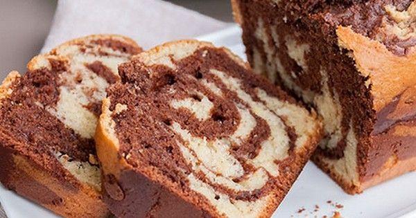 Si vous adorez les gâteaux au chocolat, vous ne résisterez pas à ce cake marbré au Nutella, à réaliser absolument pour le goûter et plus si affinités. @danslafamillecuisine Envie d'une rec...