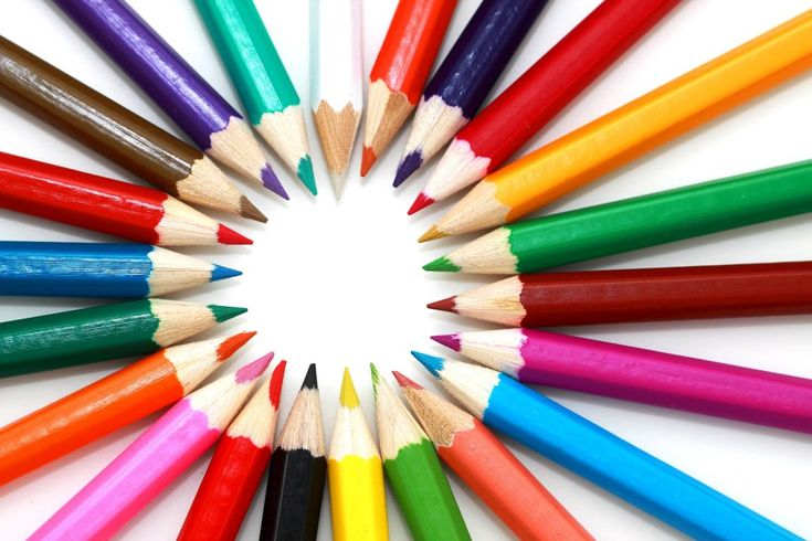 Download this free photo here www.picmelon.com #freestockphoto #freephoto #freebie /// Circle of Crayons | picmelon
