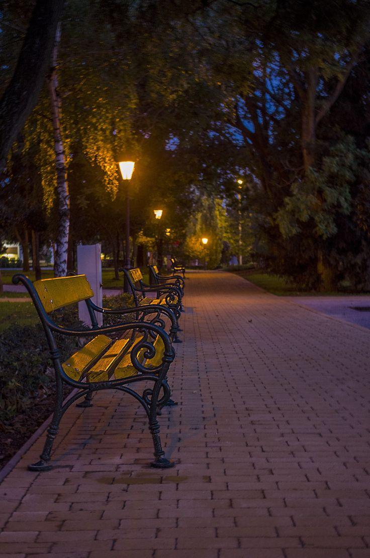 A parkban