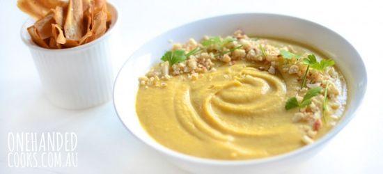 Pumpkin and Cashew Soup
