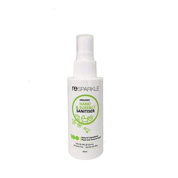 Resparkle Natural Hand Surface Sanitiser Sanitizer