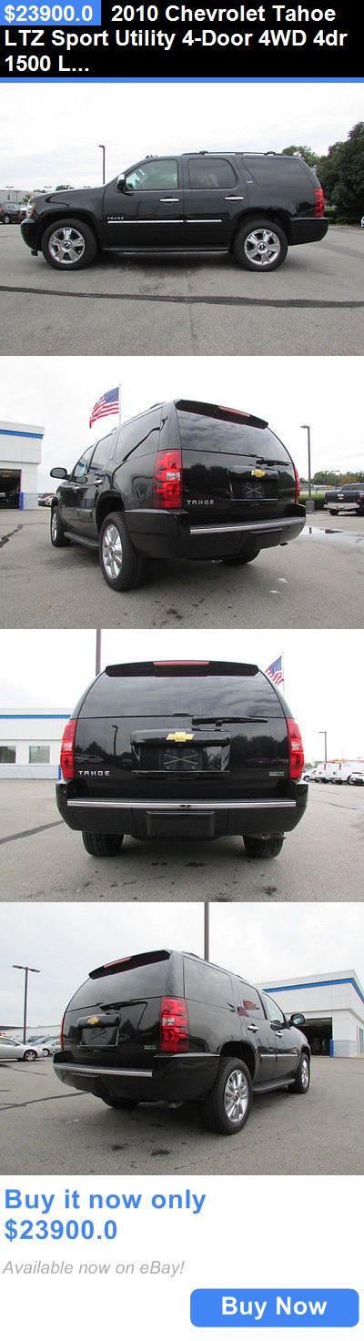 SUVs: 2010 Chevrolet Tahoe Ltz Sport Utility 4-Door 4Wd 4Dr 1500 Ltz Suv Automatic 8 Cyl Black BUY IT NOW ONLY: $23900.0