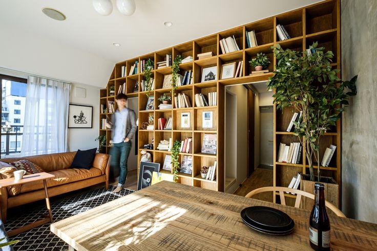インテリアコーディネート・空間デザイン実例 080 B O O K M A N | おしゃれ家具、インテリア通販のリグナ
