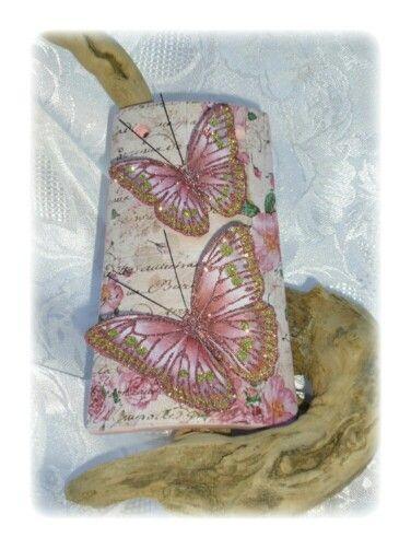 Tegola con farfalle 3D