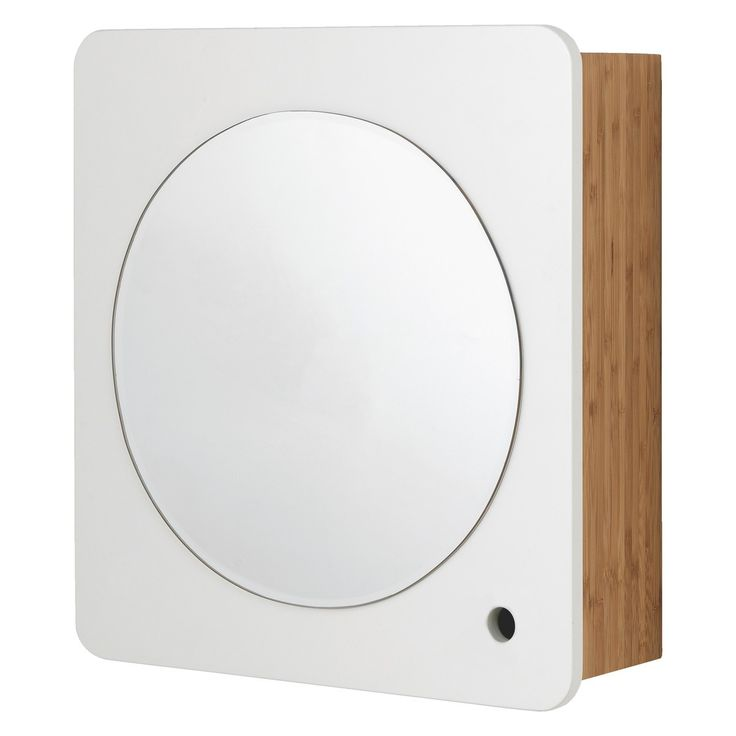 Odin Bamboo Bathroom Cabinet With Mirror Buy Now At