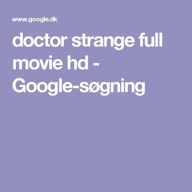 doctor strange full movie hd - Google-søgning