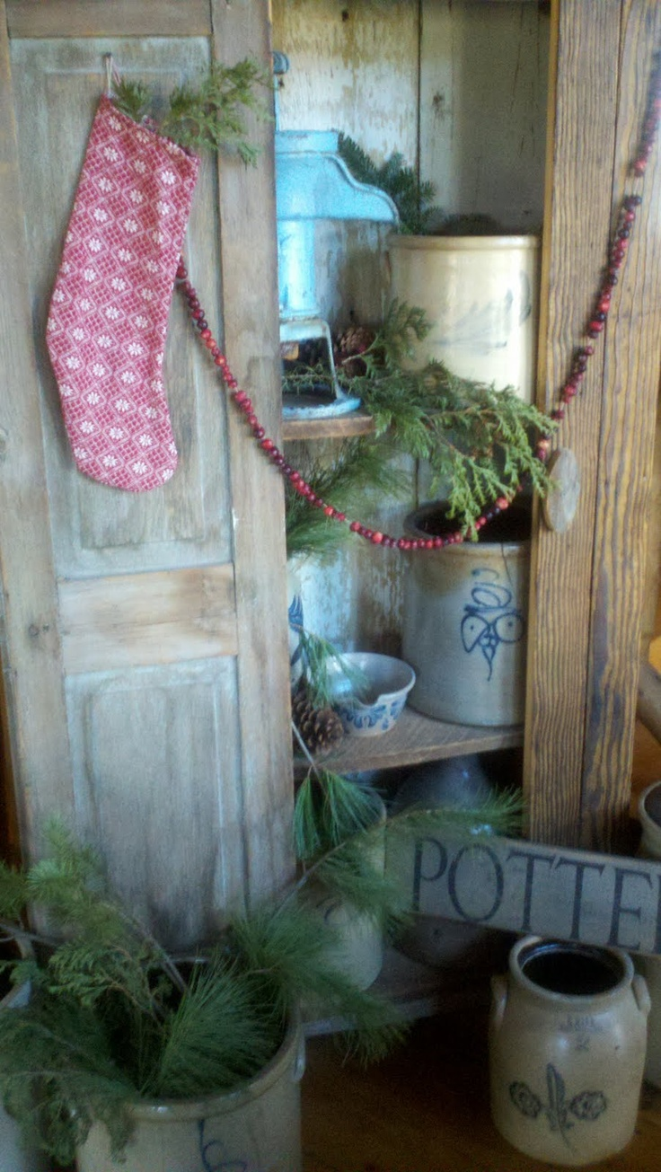 Oh My Gosh,I Absolutely Love This Pic... Primitive Country Christmas Primitive ChristmasPrimitive DecorChristmas ...