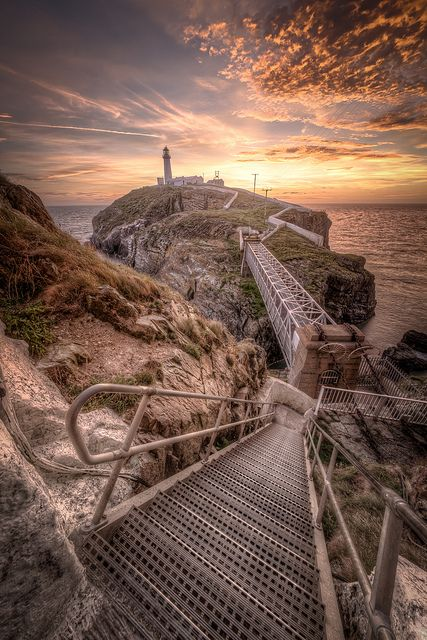 South Stack, Anglesey< North Wales, by Mark Carline