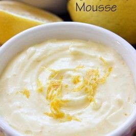 Lemon Mousse | Mandy's Recipe Box