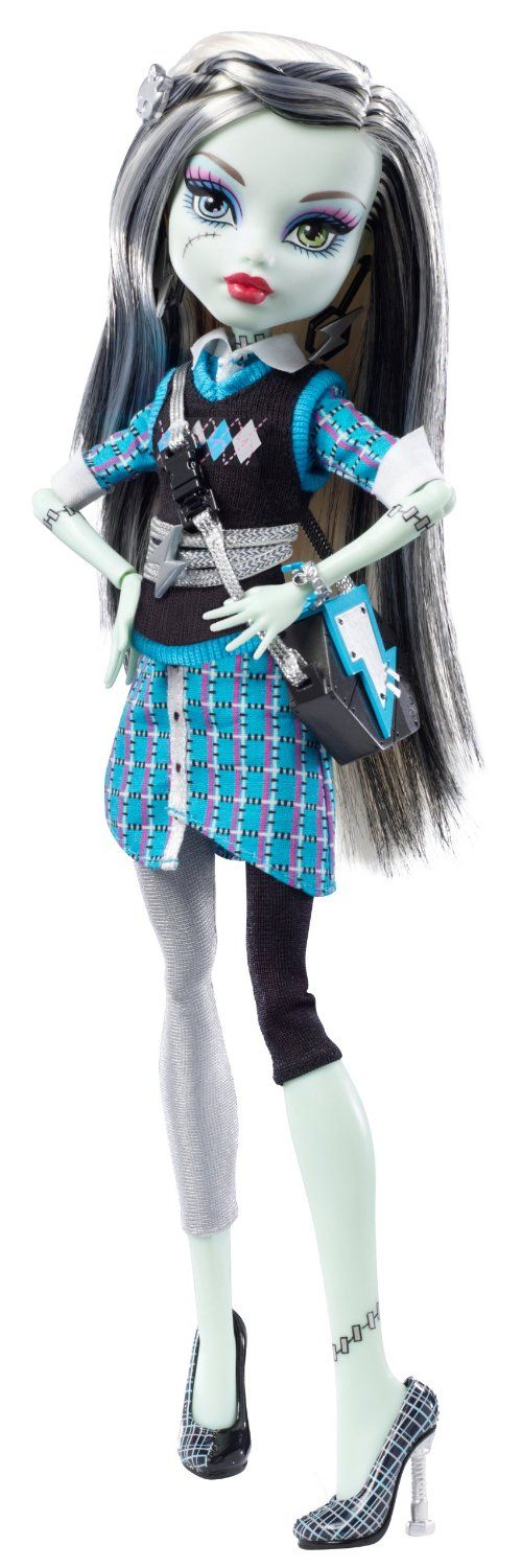 Amazon.com: Monster High Frankie Stein Doll: Toys & Games ...