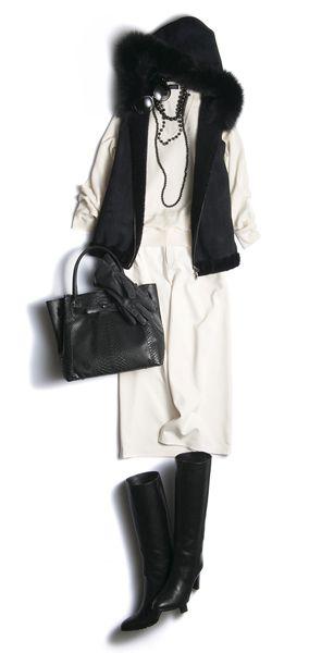 人気スタイリスト押田比呂美が、2015冬のお薦めコーディネートを伝授! 30代・40代・50代のレディースファッション通販【ディノス】