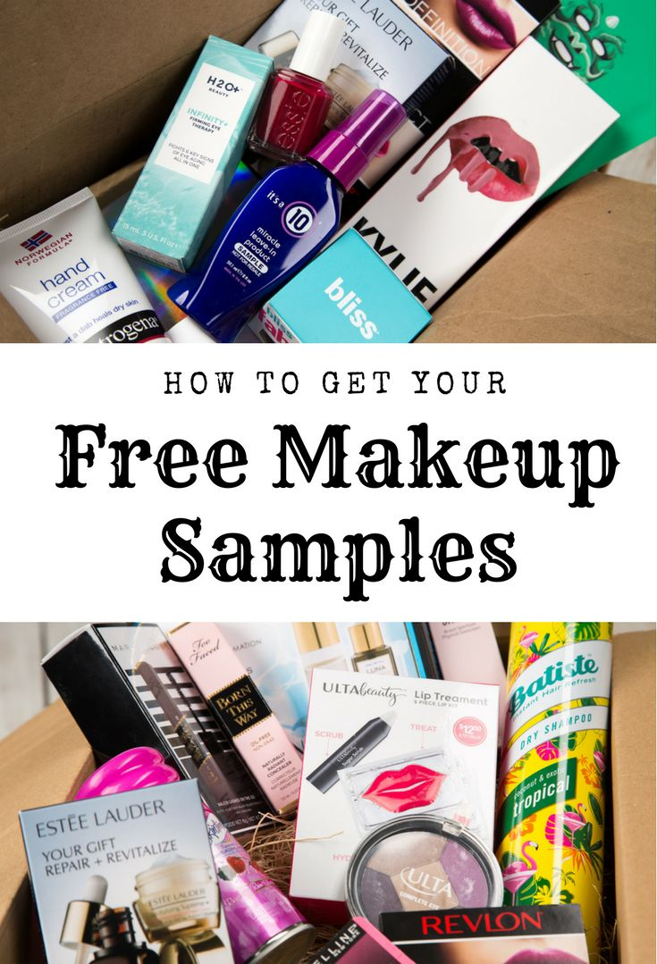 Try makeup samples for free before you buy! We have samples from Sephora, MAC, Clinique, Kylie, Urban Decay, and many more! #makeupforever