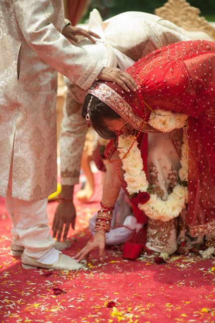 See The Most Stunning Indian American Wedding