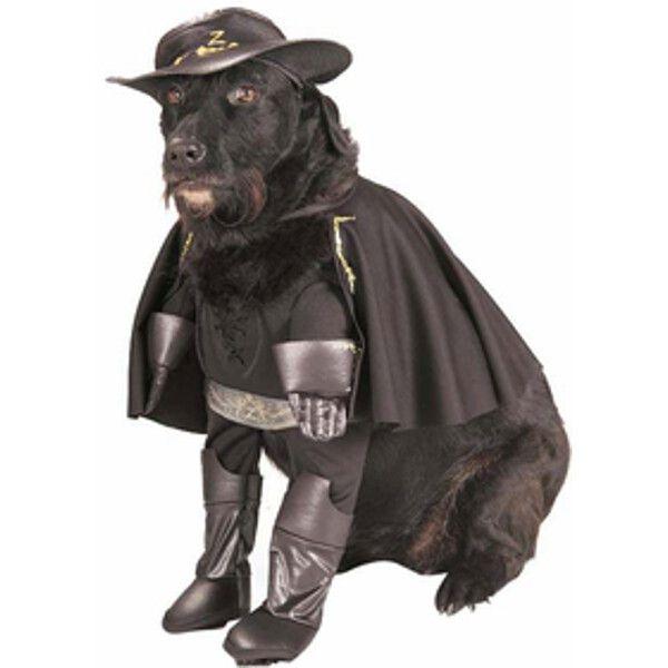 Deluxe Zorro Dog Costume
