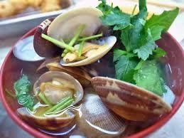 あさり汁 / clam soup