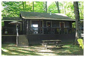 Muskoka Ontario Lakeside Cottage Rentals – Logpointe Housekeeping Cottage