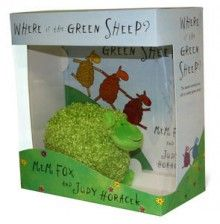 Where is the Green Sheep - Book and Toy