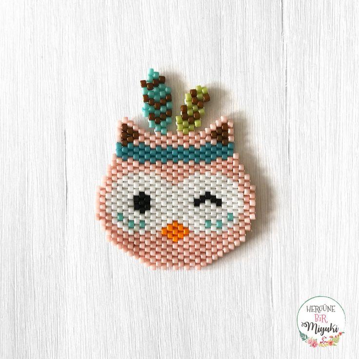 58. Gün / Day 58: Kızılderili Baykuş / Indian Owl #baykuş #owl #indian #pixelart #58 #hergune1miyuki #hergüne1miyuki #motifhergune1miyuki desen / pattern by: @hergune1miyuki ... Desenim kullanıma ve paylaşıma açıktır, tek ricam paylaşım yaparken beni 'tag'lemeyi unutmayın lütfen teşekkürler... Deseni görmek için fotoğrafı kaydırın. / My pattern is free to use and share, I'll appreciate if you mention me while sharing ☺️ thank you... Swipe for the pattern.