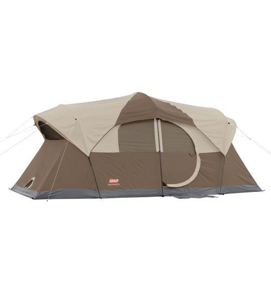 Coleman WeatherMaster 10 2 Room - 17x9 - 10 Person Tent