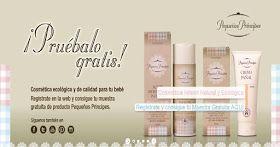 Muestras gratis cosmética ecológica para bebes