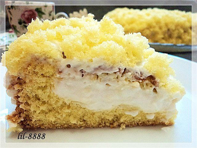 Торт Мимоза оригинальный рецепт