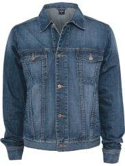 Urban ClassicsDenim Jacket Jeans-Jacke dunkelblau
