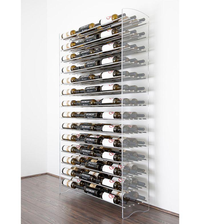 Vintage View 6 ft Evolution Base Rack - 126 Bottles - Vino Grotto