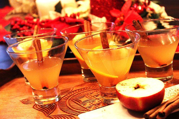 Cidre de pomme chaud au rhum #recettesduqc #boisson #alcool