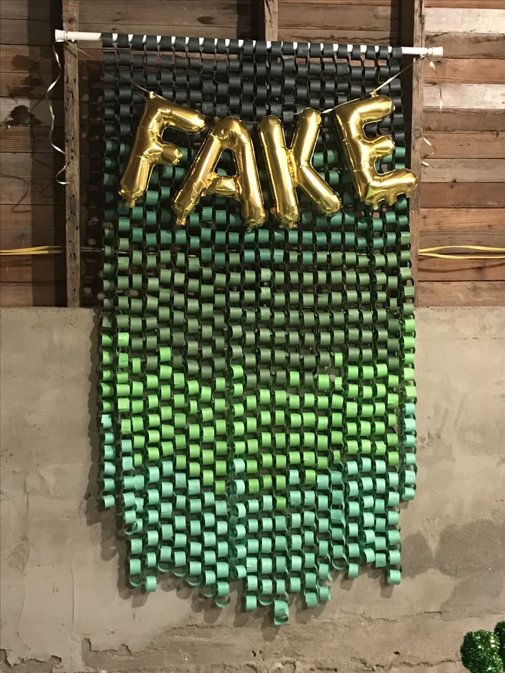 Fake Pattys Day photo prop #ombre #photobooth