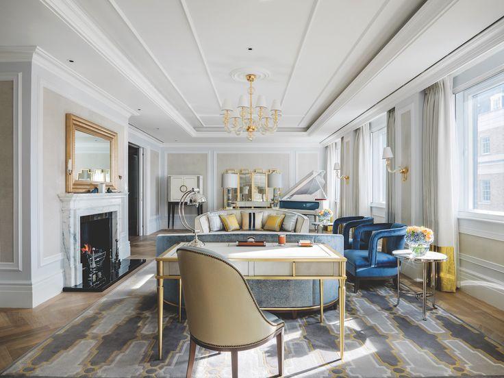 Duerme en las suites más exclusivas de Londres, como la Sterling Suite de The Langham - Suites donde pasar una noche de lujo en Londres