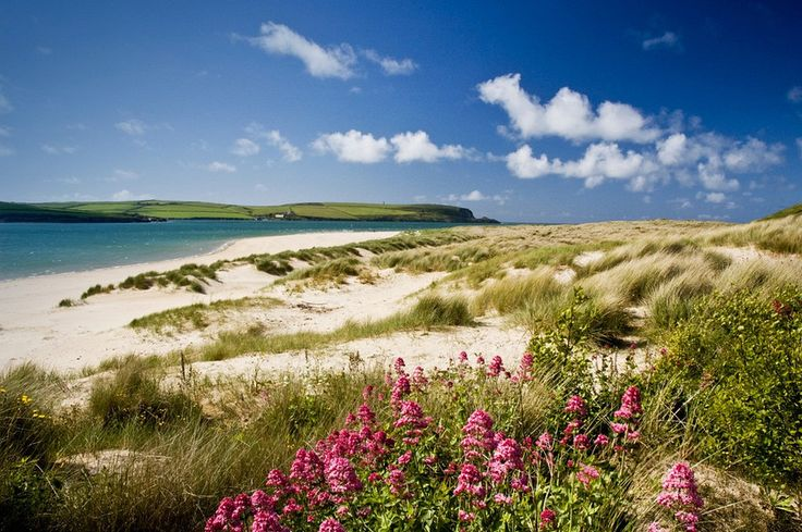 Beautiful place in England. Dune View, Rock, The Camel Estuary, North Cornwall