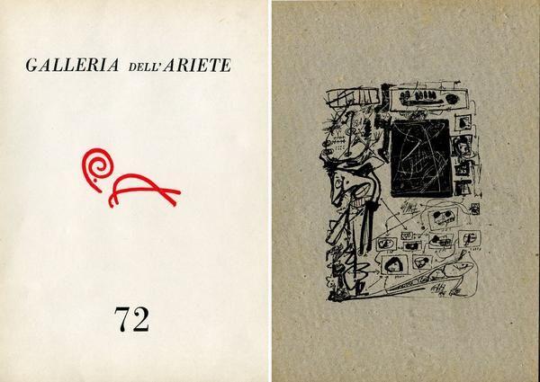 Saura. Catalogo. Milano,  Galleria dell'Ariete,  1961