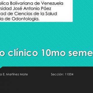 Republica Bolivariana de Venezuela Universidad José Antonio Páez Facultad de Ciencias de la Salud Escuela de Odontología. Caso clínico 10mo semestre. Autor:. http://slidehot.com/resources/caso-clinico-10mo-semestre.10361/