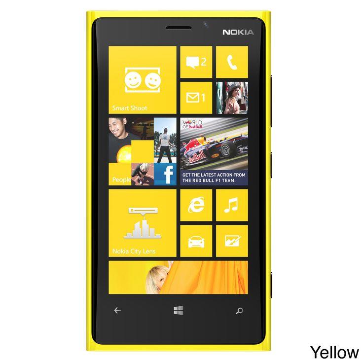 Nokia Lumia 920 RM-820 32GB Unlocked GSM 4G LTE Windows 8 Phone