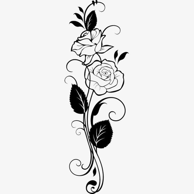Картинки роз узоры