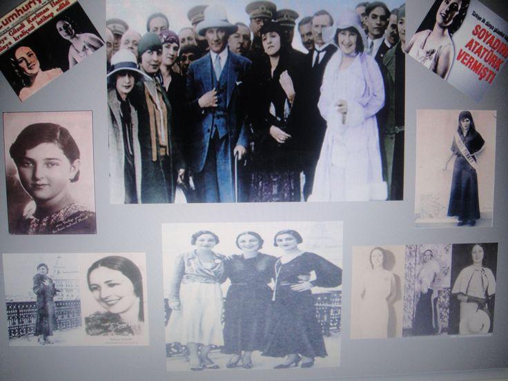 Soyadını Atatürk'ümüzün verdiği ilk dünya güzelimiz Keriman HALİS ECE yeğeniydi...
