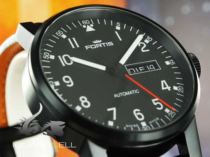 Fortis Spacematic Pilot Professional Automatic Watch, ETA 2836-2, Limi   Iguana Sell