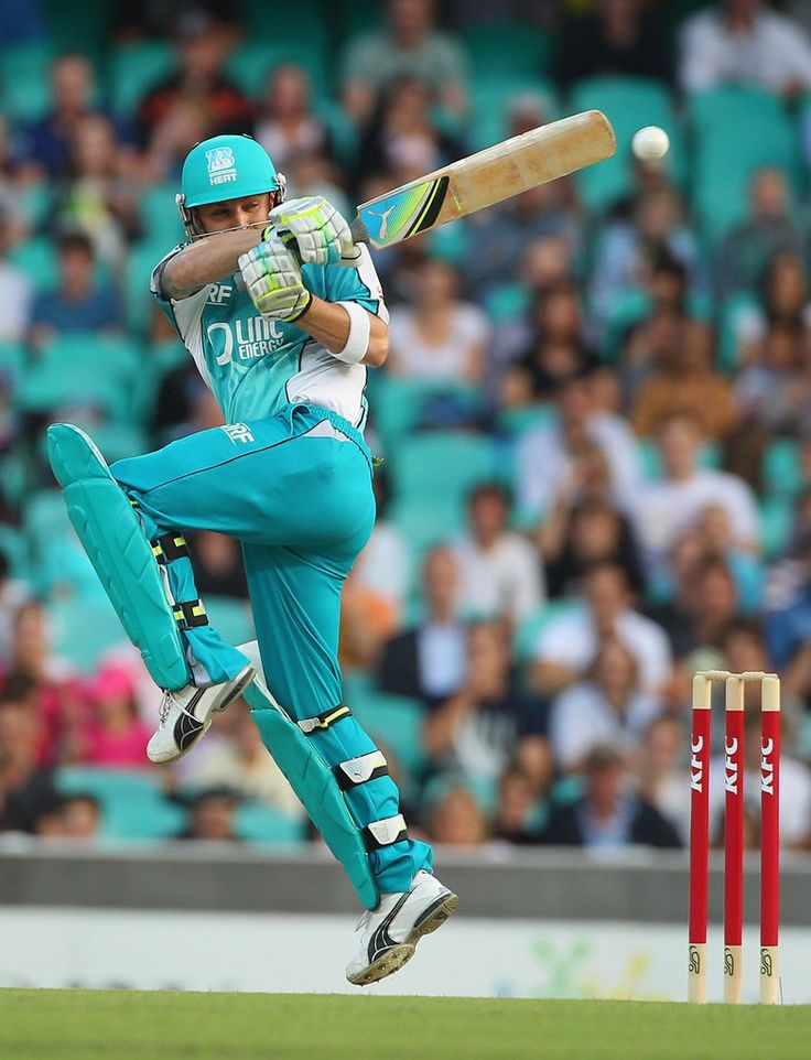 Brendon McCullum of the Heat bats during the T20 Big Bash League match between the Sydney Sixers and the Brisbane Heat at Sydney Cricket Ground on December 16, 2011 in Sydney, Australia.