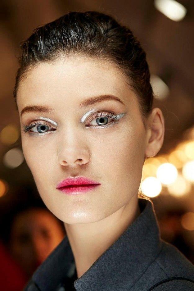 Las pasarelas desde mi smartphone - Dior beauty look: Wet & glossy make up