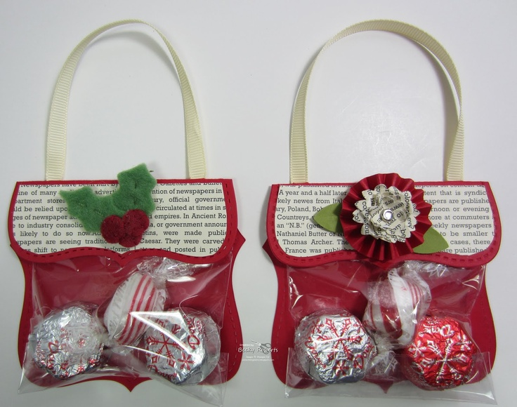 Top Note Candy Purses -- Tutorial