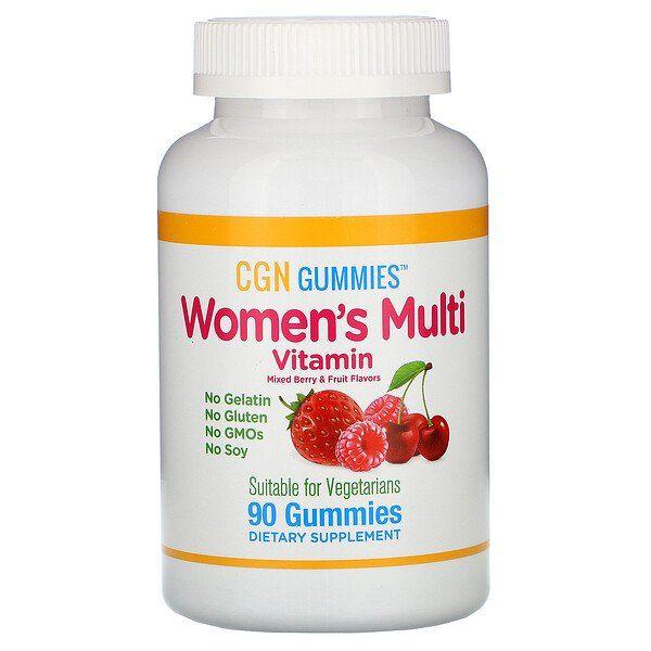 Vitamin Supplements For Women California Gold Nutrition Womens Multi Vitamin Gummies No Gelatin No Gluten Mixed Berry And Fru Multivitamin Vitamins Nutrition