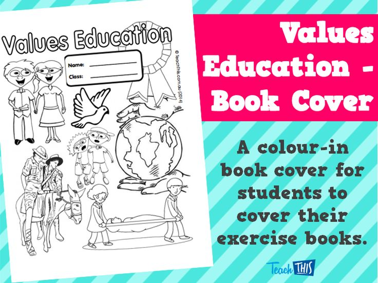 Geography School Book Cover Ideas : Values education book cover