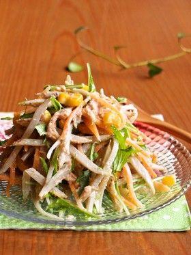 デリ風♪ツナマヨごぼうサラダ