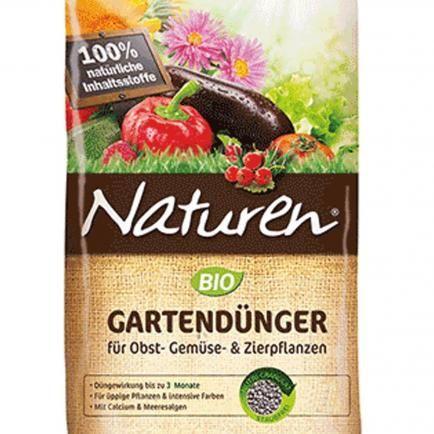 Naturen® BIO Gartendünger für Obst- Gemüse- & Zierpflanzen, 1,7 kg
