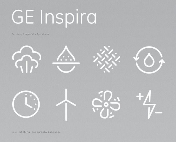 Icons & Symbols / GE Corporate Zwerner Office