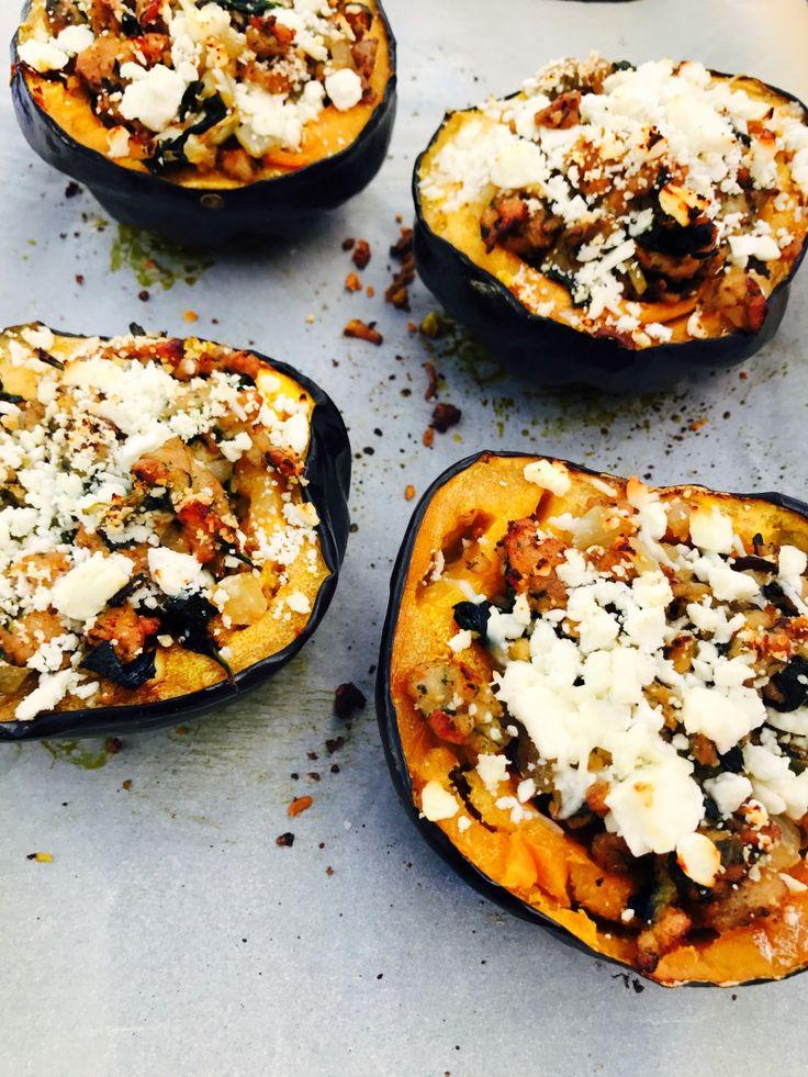 21 Day Fix Stuffed Acorn Squash | Confessions of a Fit Foodie