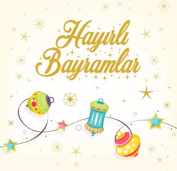 Bayram Mesajlari 2018 Ramazan Bayrami Resimli Kutlama Tebrik Sozleri Bayram Bayrami Kutlama Mesajlari Ramazan Resim Eid Decoration Ramadan Illustration