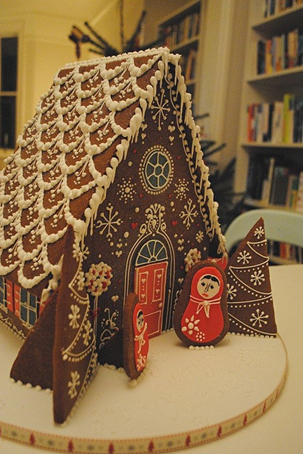 Deliciously Creative Gingerbread Houses