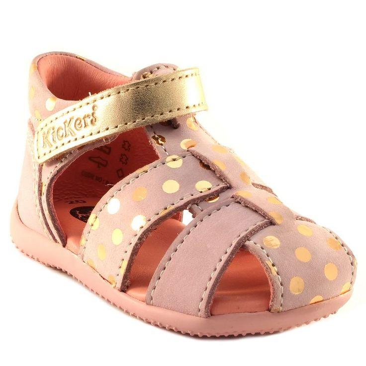 6fd565e460321 246A KICKERS BYGGY ROSE www.ouistiti.shoes le spécialiste internet chaussures  bébé ...
